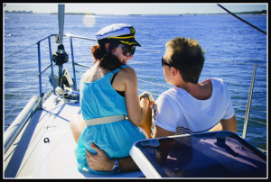 photo of couple on boat 2